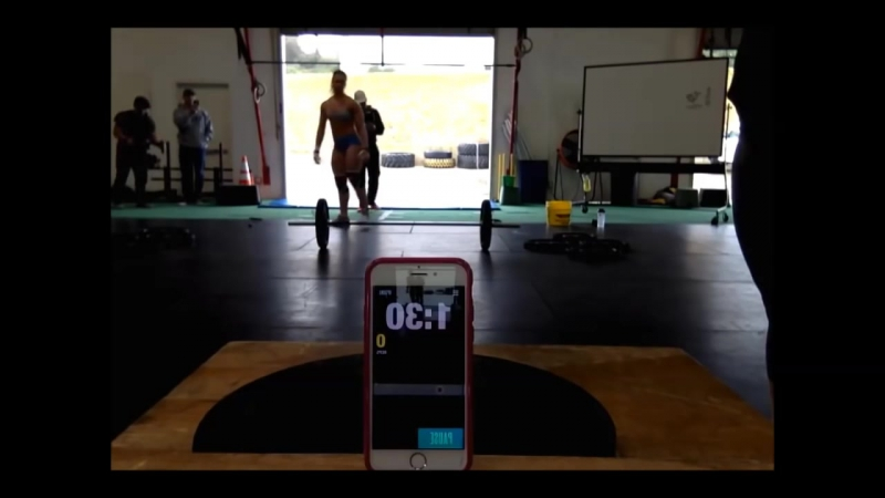 Brooke Wells training CrossFit 2017