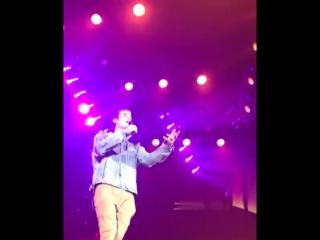 Justin performing in zurich, switzerland