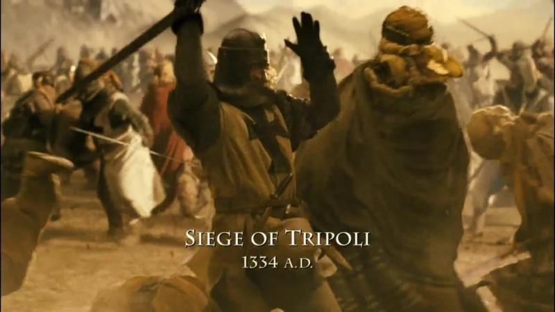 Время ведьм (2011). Сражения крестоносцев с неверными