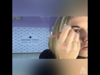 Экспресс-макияж от Катерины Юраш