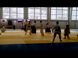 Школа Айкидо Айкикай Ульяновск. Семинар под руководством Судзуки Тосио