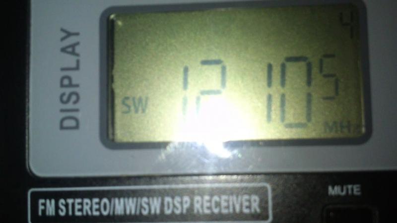 12105 kHz- R.FREE ASIA (Agignan Point)~9848km