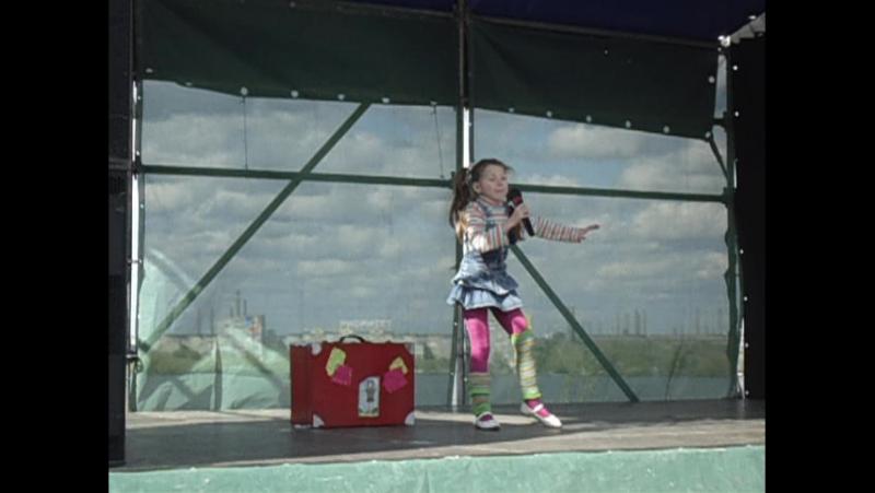 Пеппи Длинный чулок в исполнении моей любимой доченьке