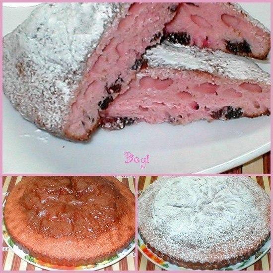 Пирог из киселя в пачке рецепт пошагово