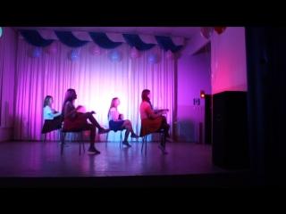 Танец 8а на осенний бал.