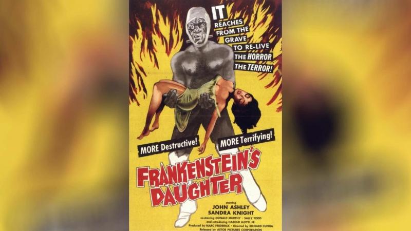 Дочь Франкенштейна (1958)   Frankenstein's Daughter
