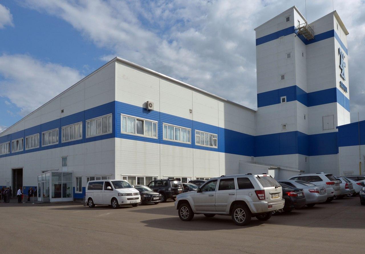 В «Ворсино» открылся завод специализированных строительных материалов