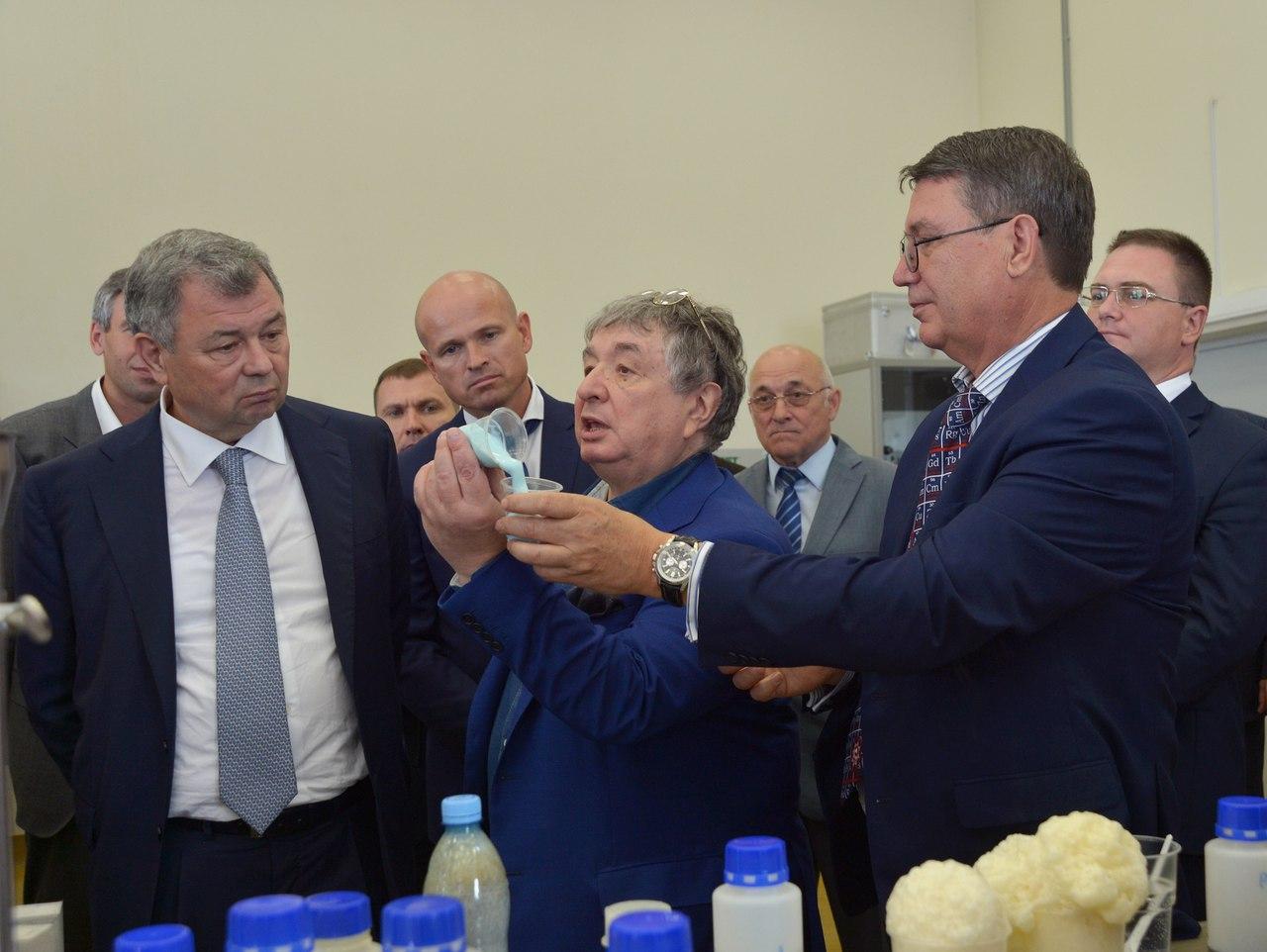 ВВорсино Калужской области открылся завод спецматериалов