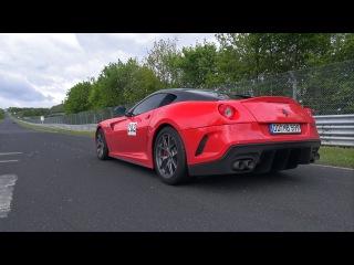 Ferrari 599 GTO - INSANE Downshifts Accelerations!