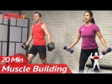 20 Min Muscle Building Dumbbell Chest Workout at Home for Women & Men Bodybuilding Workouts Routine