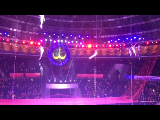 Flying Trapeze ''Heroes'' - 12th Wuhan International Acrobatic Art Festival of China