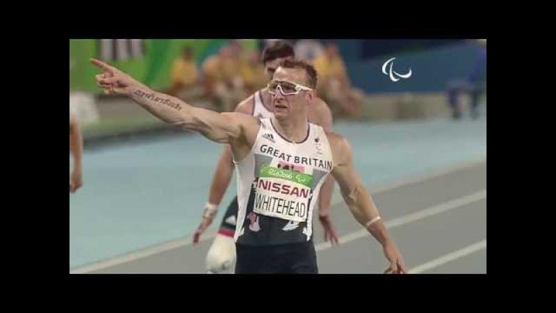 Athletics | Men's 200m - T42 Final | Rio 2016 Paralympic Games