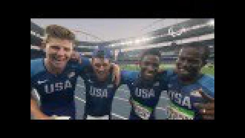 Athletics | Men's 4x100m - T42-47 Final | Rio 2016 Paralympic Games