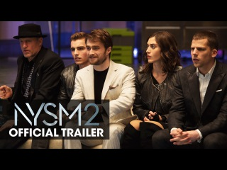 """Now You See Me 2 (2016 Movie) Official Trailer – """"The Greatest Magic Trick"""""""