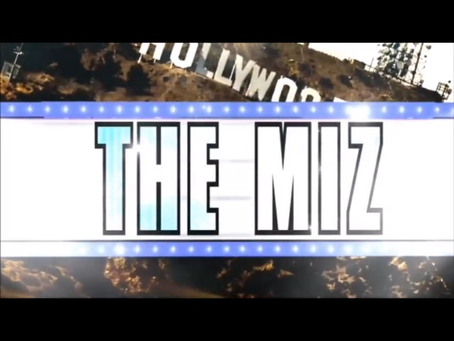 WWE The Miz Theme Song Titantron 2017