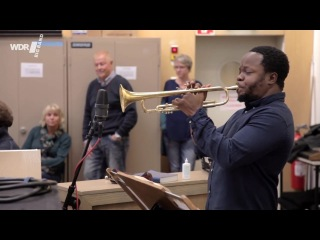WDR BIG BAND feat. Ambrose Akinmusire - This Little Light Of Mine (Rehearsal)