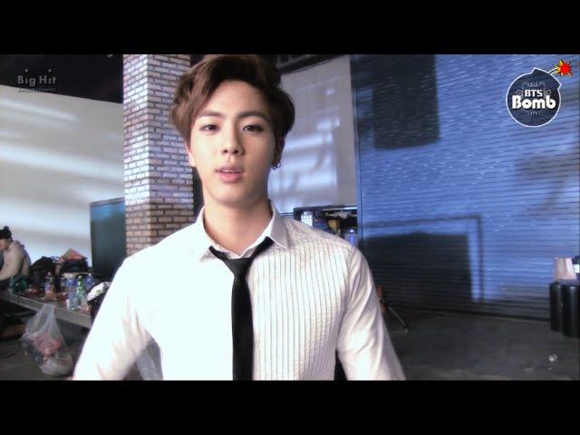 [BANGTAN BOMB] Special BANGTAN BOMB 6- Jin's practice before the shooting - BTS (방탄소년단)