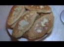 Жареные пирожки с яйцом и зелёным луком
