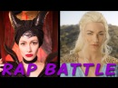 MALEFICENT vs DAENERYS Princess Rap Battle Yvonne Strahovski Whitney Avalon explicit