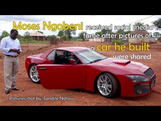 Homemade Limpopo car ready to hit the road