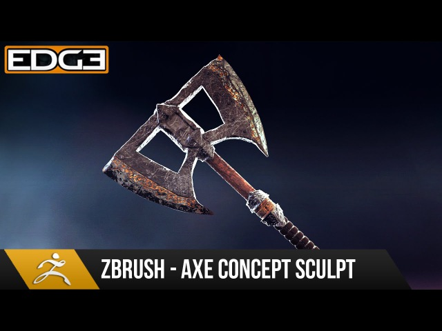 1 Game Axe Asset Creation Series - Zbrush Concept Sculpting HD