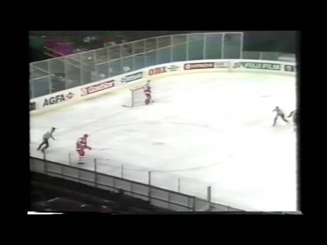 Ice Hockey World Championships 1987 Vienna USSR Switzerland 13 5