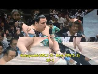 Sumo -Hatsu Basho 2017 Day 8, January 15th -大相撲初場所 2017年 8日目