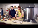 Amy's Garlic Pesto Focaccia with Hot Smoked Salmon and Salmon Caviar - Ben's Menu