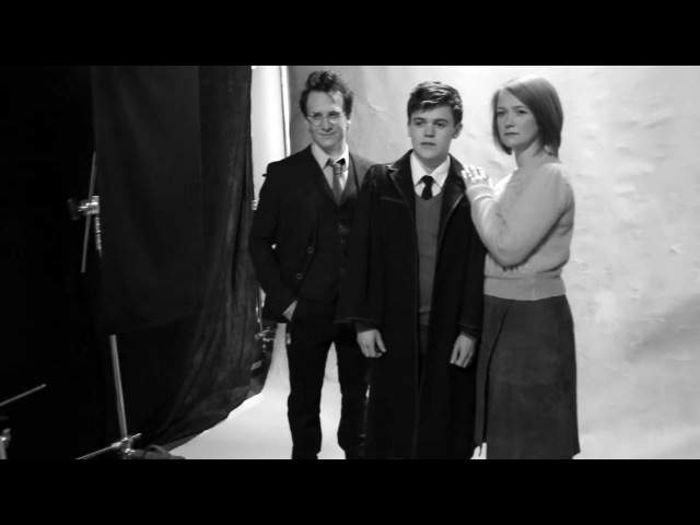 Фотосессия   Персонажи пьесы «Гарри Поттер и Проклятое дитя» с русскими субтитрами