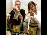 Lil Wayne Has A Smoking Session With Caviar Bishop From Caviar Gold