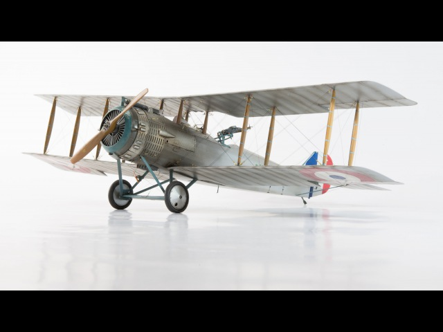 Wingnut Wings Salmson 2-A2, 132, Stopmotion