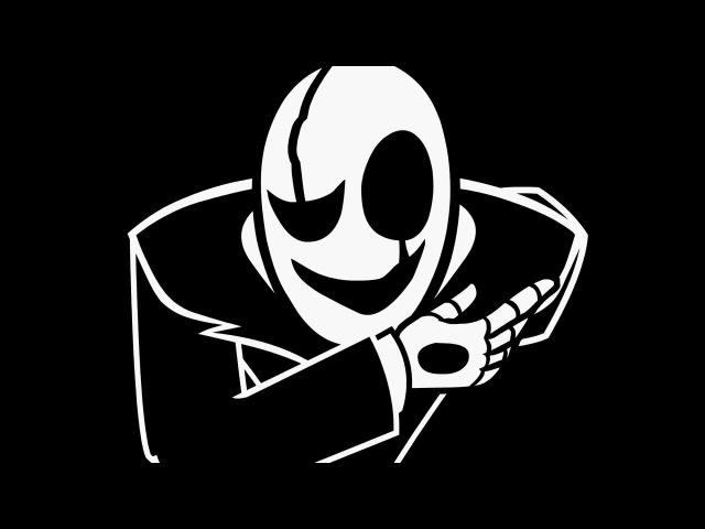 Undertale анимация Гастер и Напстаблук
