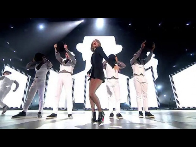Taylor Swift performs 'Blank Space' - BRIT Awards 2015 - Video Dailymotion