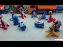 Toys dolphins, cats doremon circus fun, Đồ chơi cá heo, mèo doremon làm xiếc vui nhộn, Toys for kids