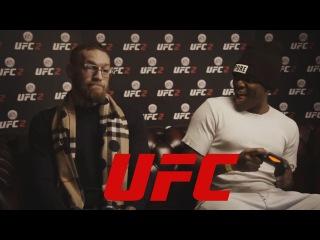 Конор МакГрегор играет в UFC 2 с блогером KSI ( ОЗВУЧКА и ПЕРЕВОД )
