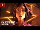 CGI 3D Animated Short Film ROSE BLEUE Amazing Apocalyptic Animation by Rubika