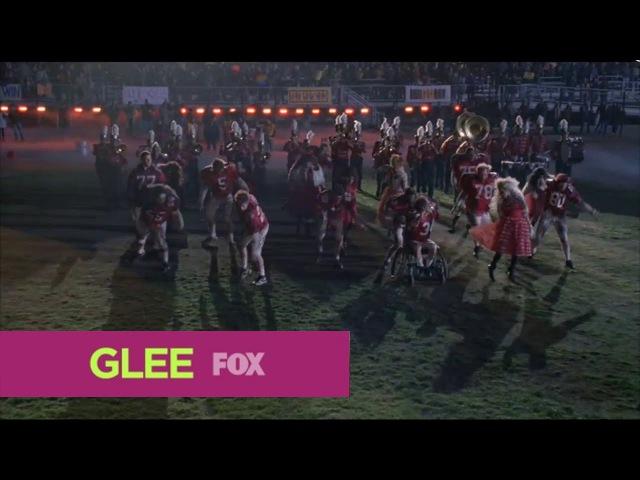 Glee - thriller/heads will roll'