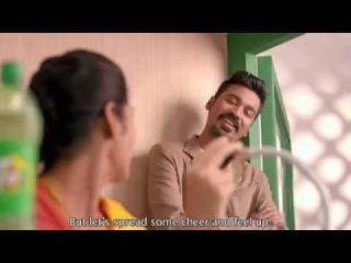 7UP Upstarters Dhanush Tamil TVC - Railway Announcer (English Subtitles)