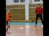 наши мальчишки поздравляют своего тренера!🎁🎈🎊🎉🏃⚽