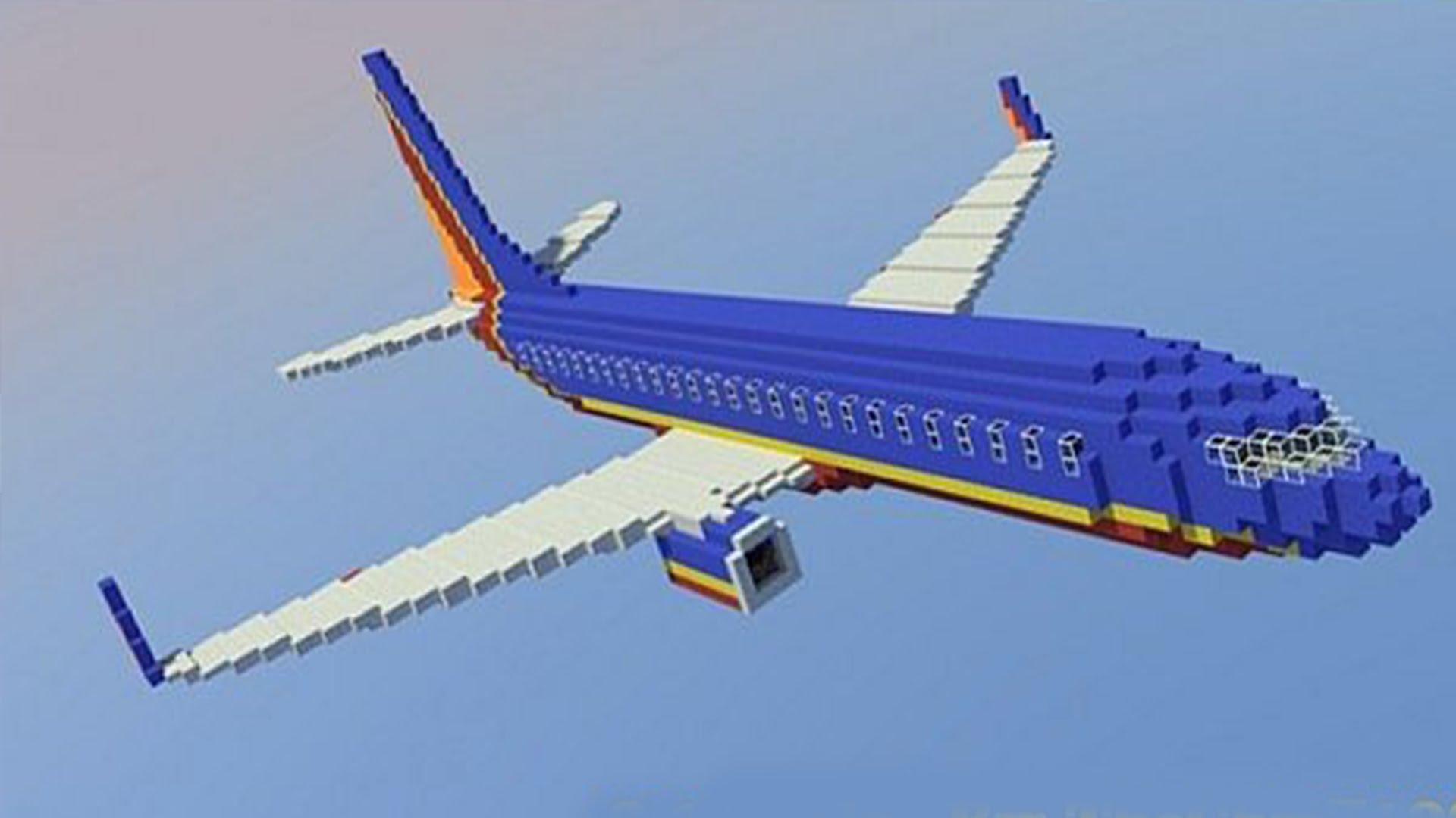 Minecraft как сделать самолёт фото 616