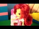 Мультфильмы для девочек! Куколки! Земляничка с Вишенкой на кухне кукольный театр