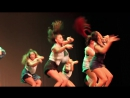 ReQuest Dance Crew Skulls Crowns Show