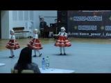 Студия танца Кислород. Дети 3-5 лет Матрешки 2 место