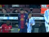 КИ 2012-13 | 1-4 финала | Первый матч | Барселона - Малага 2-2