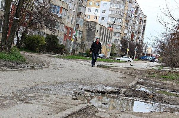 Улицы Симферополя, ремонт: в приоритете – красивый въезд в город