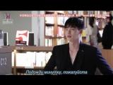 [Mania] Ли Чон Сок. BTS 5 эпизода дорамы «W – два мира». Съёмки в книжном магазине