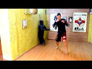 Скрытый удар ногой Топорик _ Киокусинкай каратэ _ MMA _ Kyokushinkai Karate _ IKO _ Единоборства