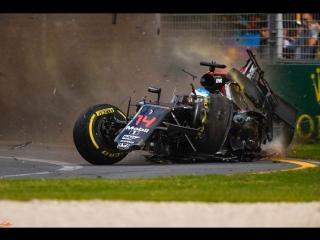 Все аварии Формулы-1 2016 года в одном видео