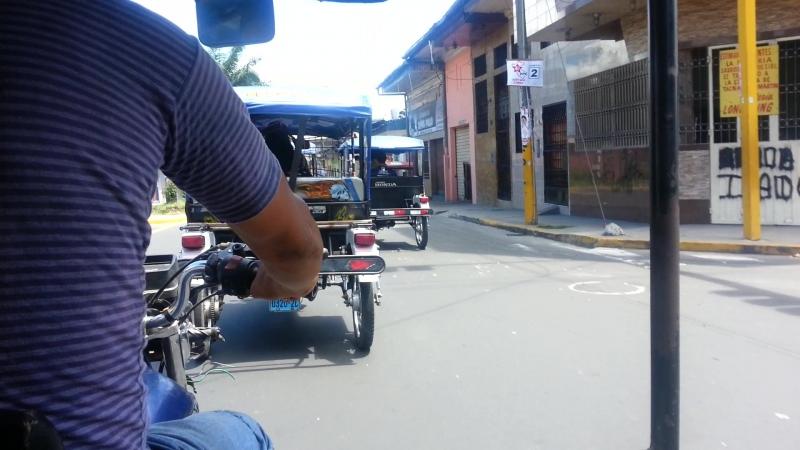 Mototaxis en Iquitos