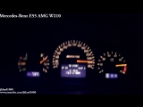 BMW M5 E39 vs Audi RS6 B5 (C5) vs Mercedes E55 AMG W210 - Acceleration 0-270km_h